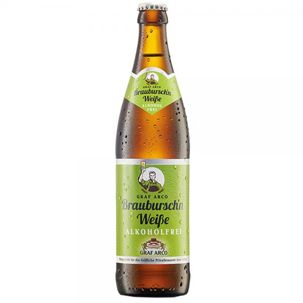 Graf Arco Brauburschn Weißbier alkoholfrei 20x0,5l