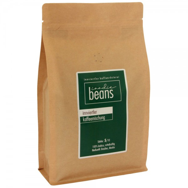 inndie beans Innviertler Kaffeemischung 1000g