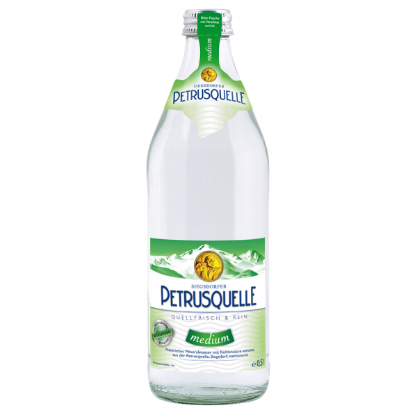 Siegsdorfer Petrusquelle Medium 20x0,5l