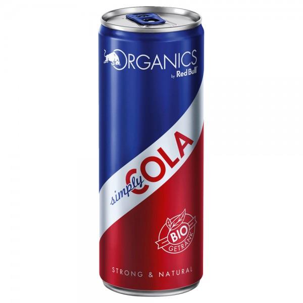 Red Bull Organics BIO Simply Cola 24x0,25l