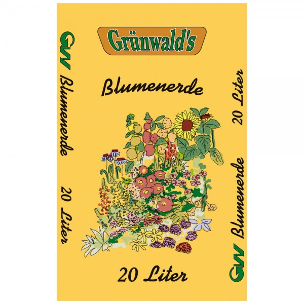 Grünwald´s Blumenerde 20 Liter - Gärtnerqualität