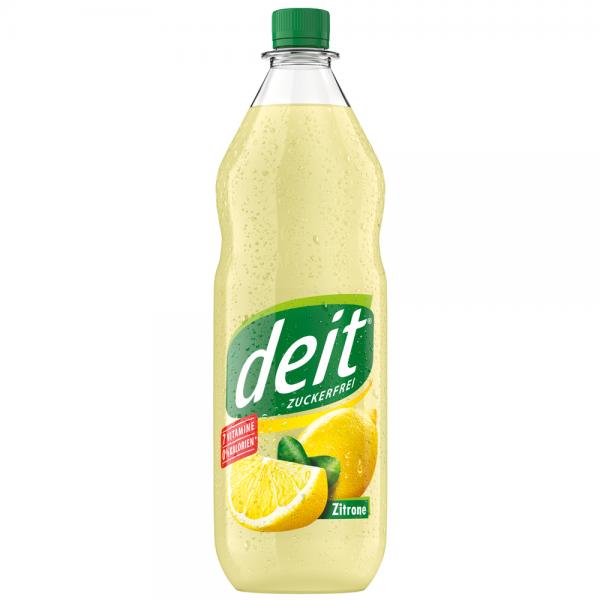 Deit Zitrone Trüb 12x1,0 l