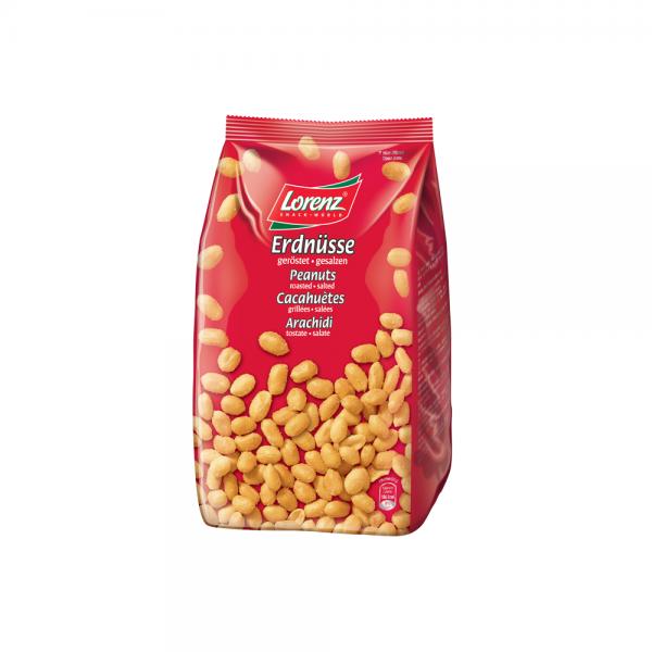 Erdnüsse geröstet, gesalzen 1000g