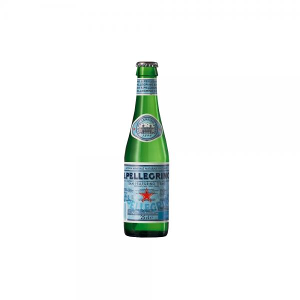 San Pellegrino Mineralwasser 24x0,25 l