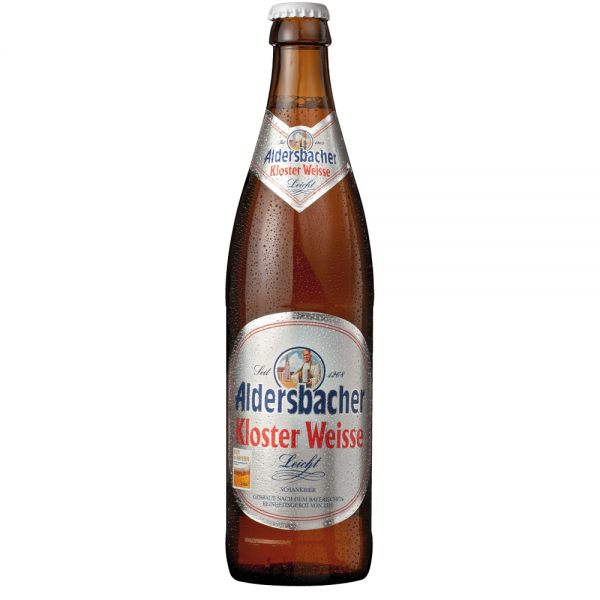 Aldersbacher Kloster Weisse Leicht 20x0,50 l