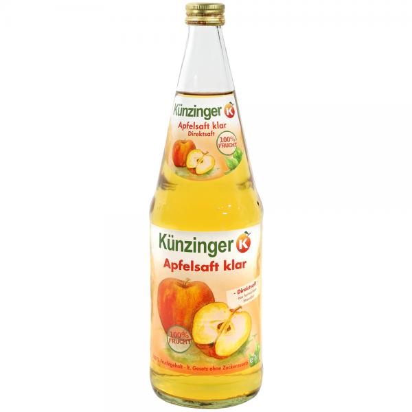 Künzinger Apfelsaft klar 6x1,0l