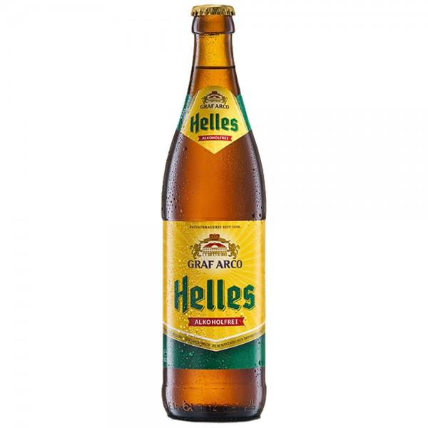 Graf Arco Helles alkoholfrei 20x0,5l - MHD 08.07.2021