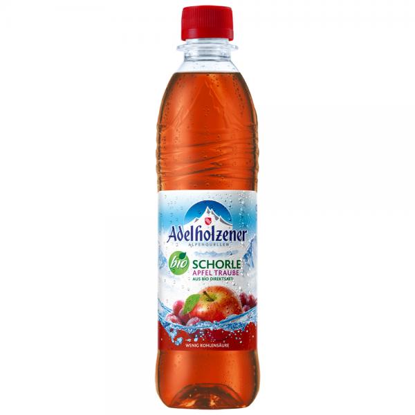 Adelholzener Bio Apfel-Traube 12x0,5 l