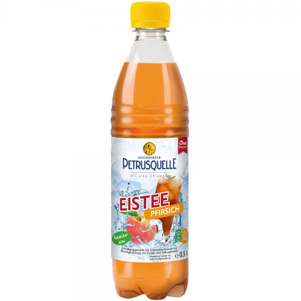 Siegsdorfer Petrusquelle Eistee Pfirsich 12x0,5l