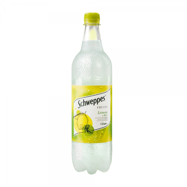 Schweppes Lemon & Mint 6x1,0 l