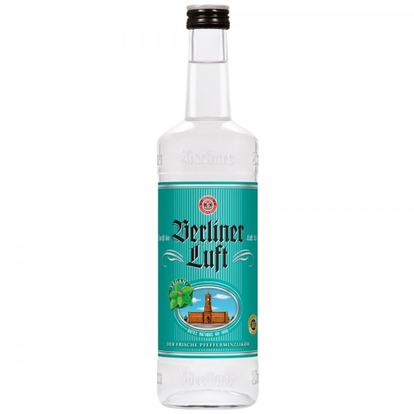 Berliner Luft Pfefferminzlikör 18% vol. 1l