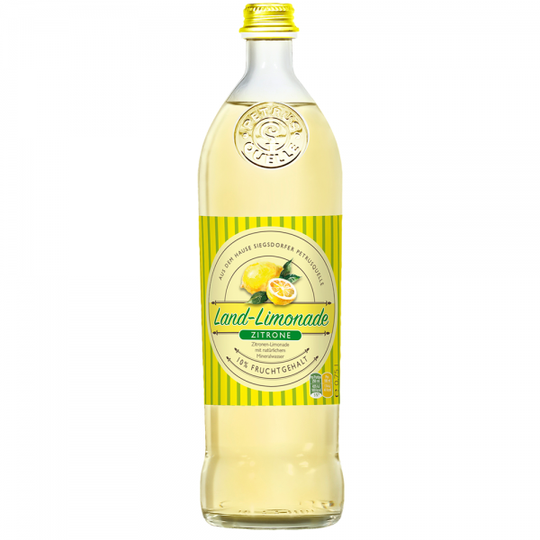 Siegsdorfer Petrusquelle Landlimo Zitrone 12x0,75l