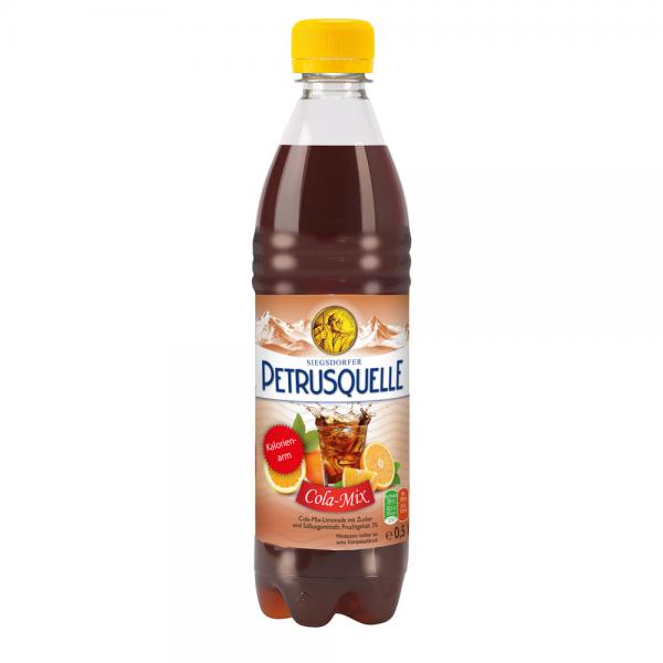 Siegsdorfer Petrusquelle Cola-Mix PET 12x0,5l