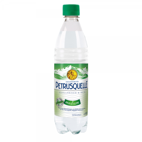 Siegsdorfer Petrusquelle Medium PET 12x0,5l