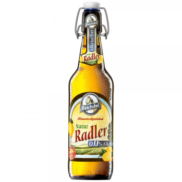 Mönchshof Natur Radler alkoholfrei 20x0,5l