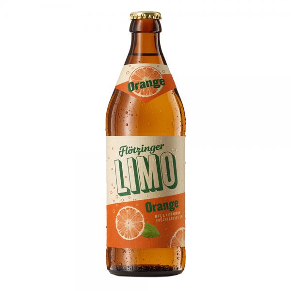 Flötzinger Orangen-Limonade 20x0,5l