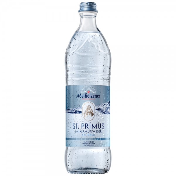 Adelholzener St. Primus Mineralwasser Naturell 12x0,75l