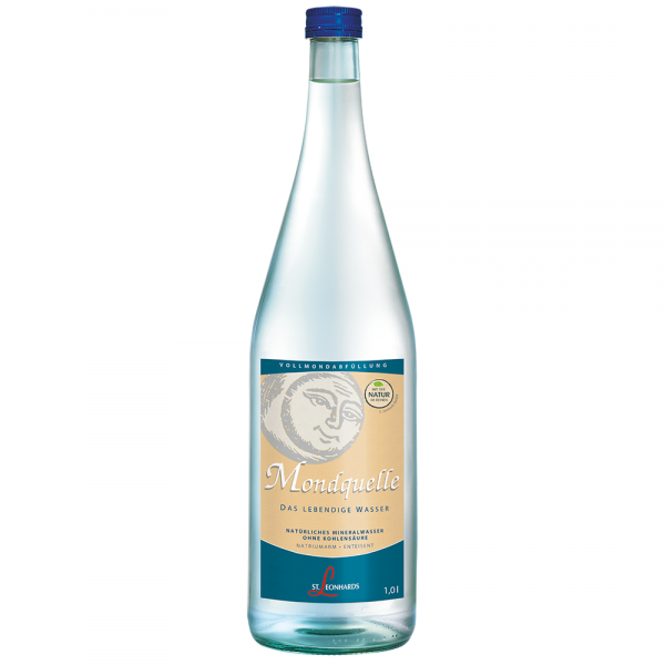 St. Leonhard Mineralwasser Vollmondquelle 6x1,0 l