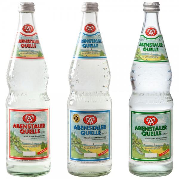 Abenstaler Mineralwasser 12x0,7l