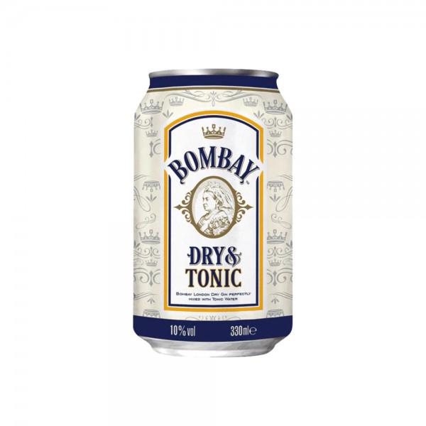 Bombay Dry Gin & Tonic 10% vol.4x0,33l Dose