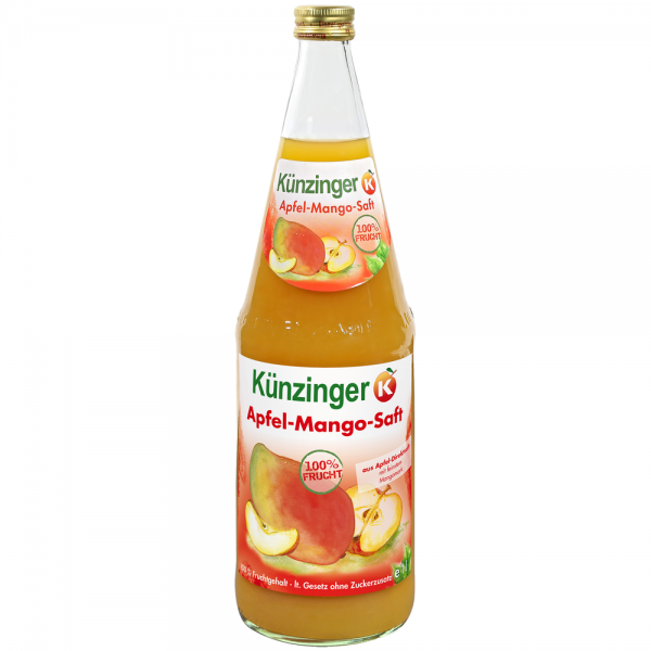 Künzinger Apfel-Mango-Saft 6x1,0l