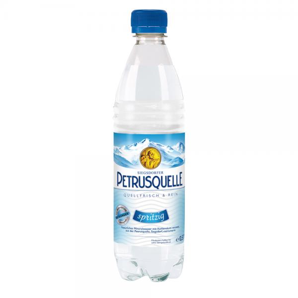 Siegsdorfer Petrusquelle Spritzig PET 12x0,5l