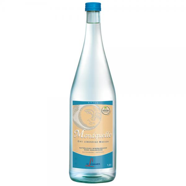 St. Leonhard Mineralwasser Mondquelle 6x1,0 l