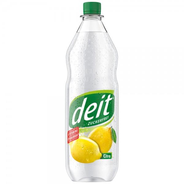 Deit Zitrone klar 12x1,0l