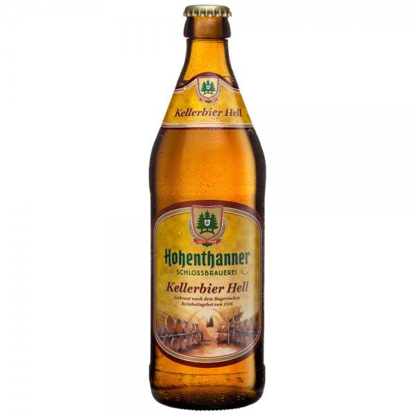 Hohenthanner Schlossbrauerei Kellerbier Hell 20x0,5l