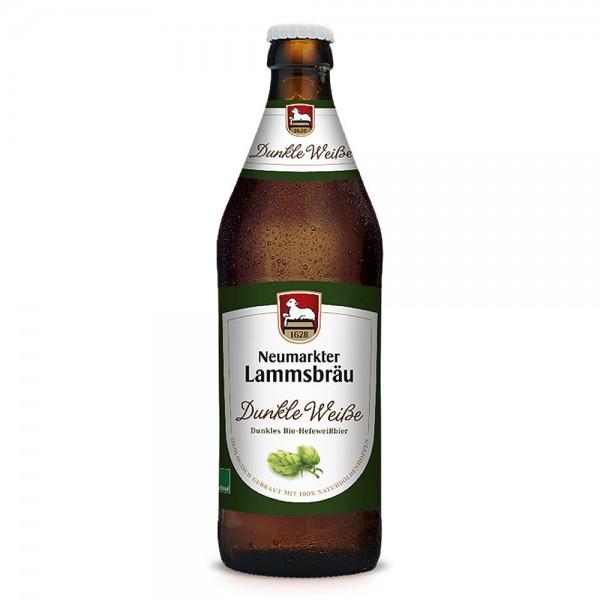 Lammsbräu Dunkle Weiße Bio 10x0,5l