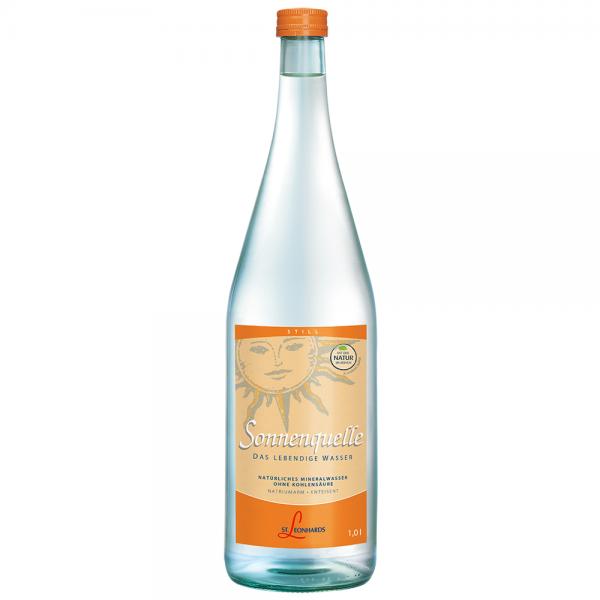 St. Leonhard Mineralwasser Sonne 6x1,0 l
