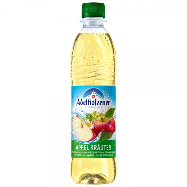 Adelholzener Apfel Kräuter 12x0,5 l