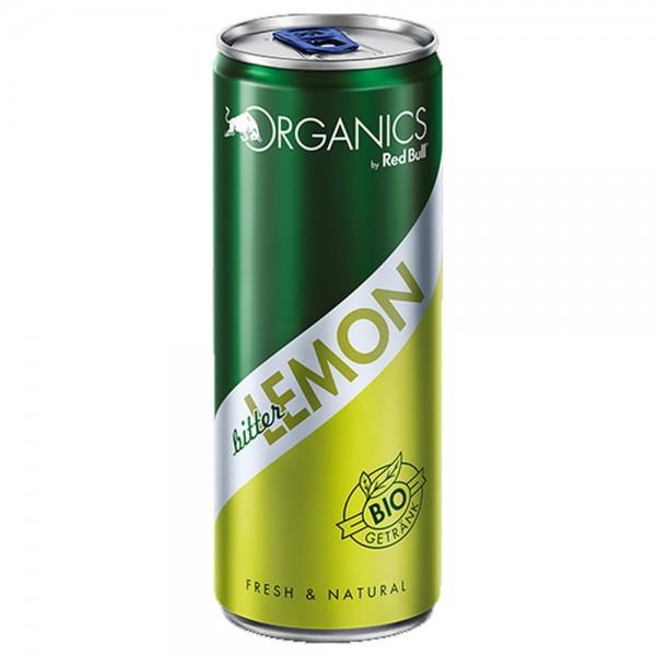 Red Bull Organics BIO Bitter Lemon 24x0,25l - MHD 10.09.2020
