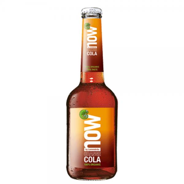 Lammsbräu now Orange Cola Bio 10x0,33l