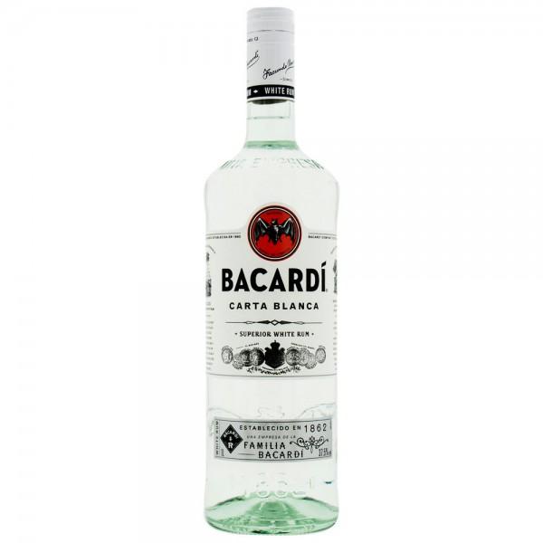 Bacardi Carta Blanca 37.5% vol.1l