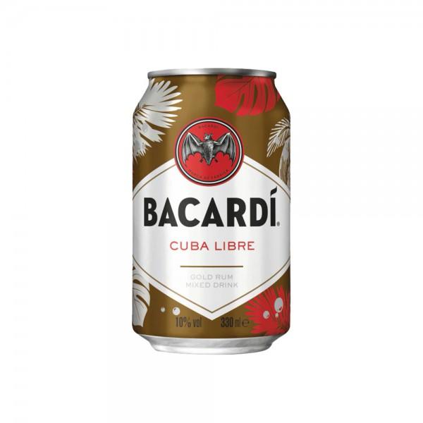 Bacardi Cuba Libre 10% vol.4x0,33l Dose