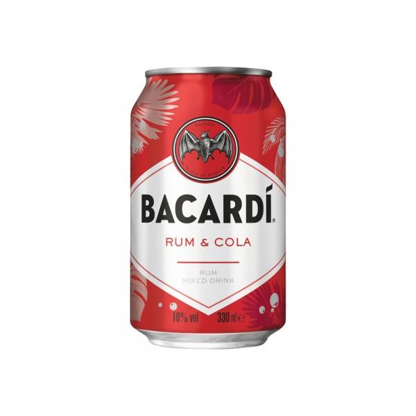Bacardi & Cola 10% vol.4x0,33l Dose