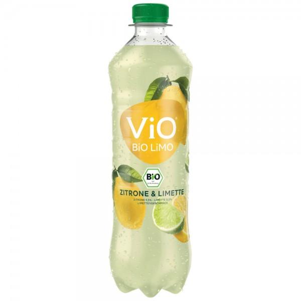 Vio Bio Limo Zitrone & Limette 18x0,5l - MHD 30.04.2021