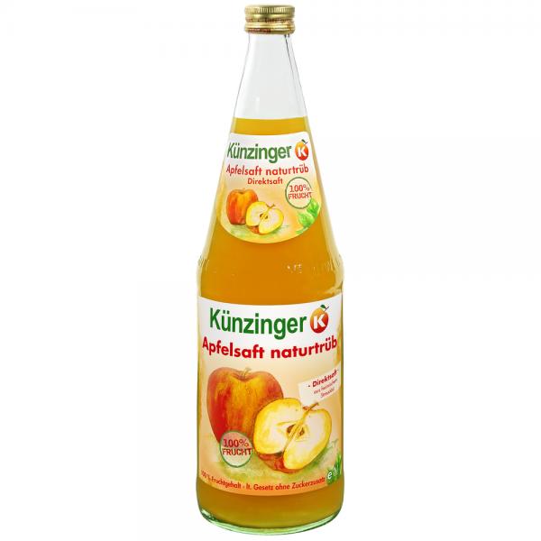 Künzinger Apfelsaft naturtrüb 6x1,0l