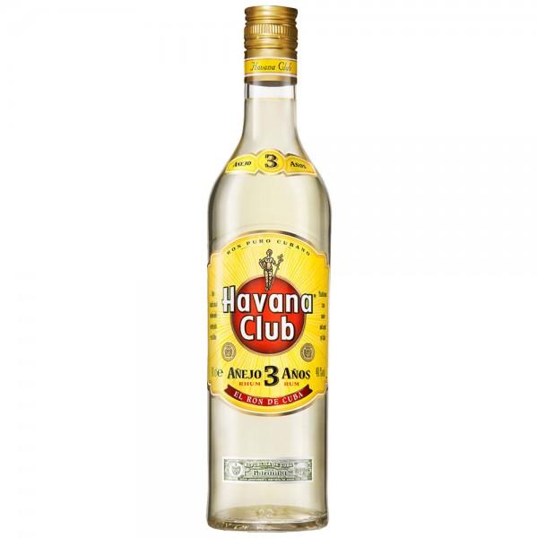 Havana Club 40% vol. 3 Jahre0,7l