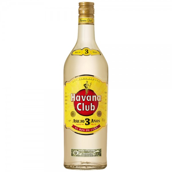 Havana Club 40% vol. 3 Jahre1l