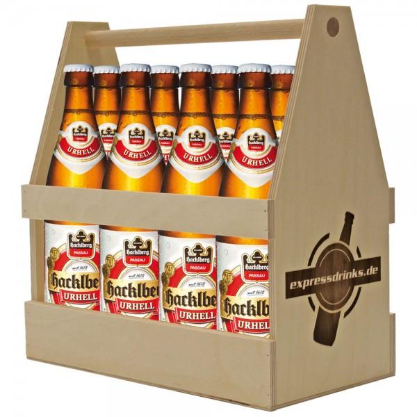 Hacklberg Urhell im Holzträger 8x0,5l
