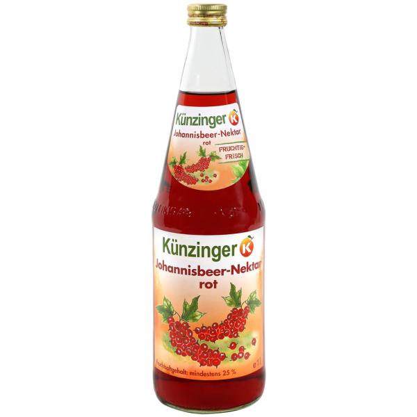 Künzinger Johannisbeer-Nektar rot 6x1,0l