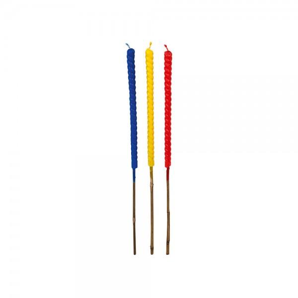 Favorit Wachsfackel handgedreht ca. 70cm 3er Pack