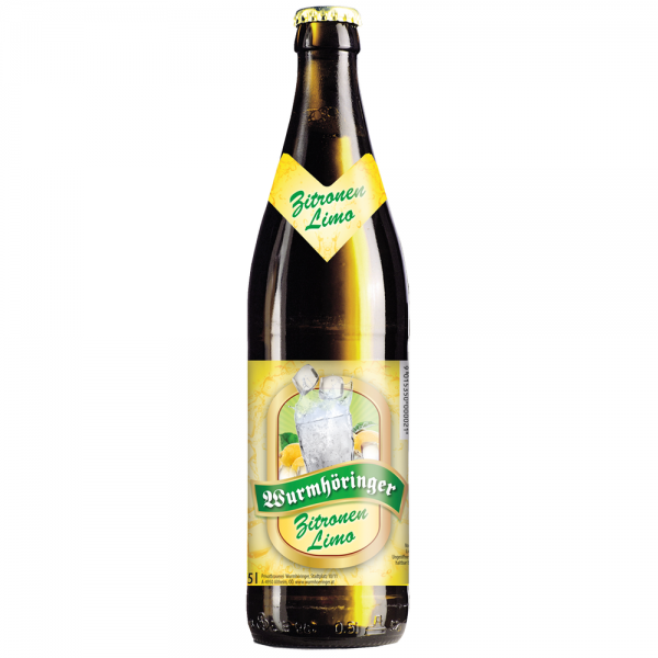 Wurmhöringer Zitronen Limo 20x0,5l