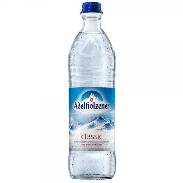Adelholzener Mineralwasser Classic 12x0,5 l