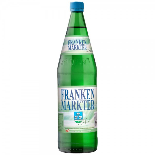 Frankenmarkter Mineralwasser Mild 12x1,0l