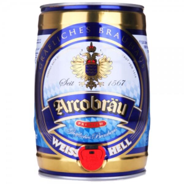 Arcobräu Weißbier 5l Dose