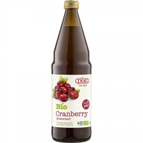 Pölz Bio-Cranberry Muttersaft 6x0,75l