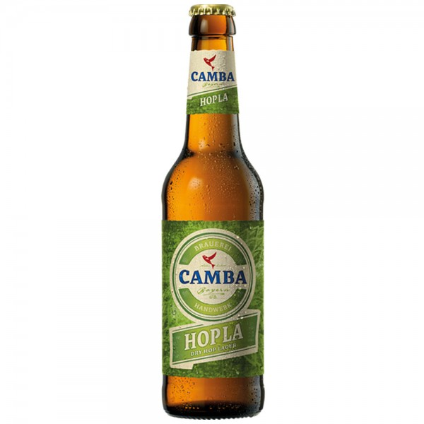 Camba Hopla Dry Hop Lager 24x0,33l